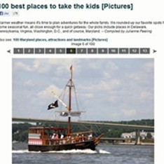 100 Best Places to take your kids