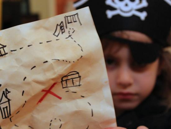 Backyard Treasure Map - Pirate Activities for Kids