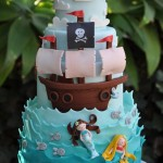 Pirate Mermaid Cake