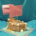 Pirate Ship Cake by Rachael