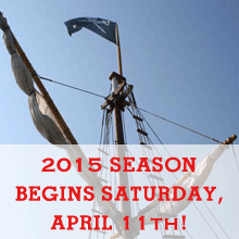 2015 Season Begins, Saturday April 11th