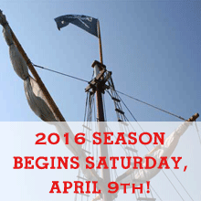 2016 Season Begins, Saturday April 9th