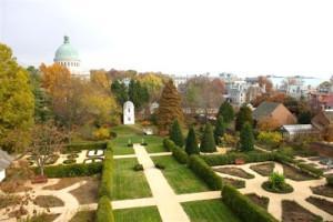 Annapolis Paca House Garden 2