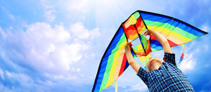 fly a kite in annapolis during spring break